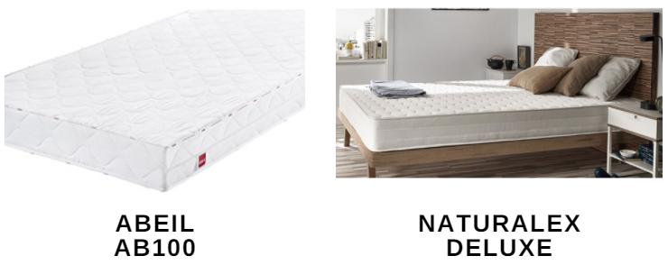 comparatif des matelas m moire de forme 2018. Black Bedroom Furniture Sets. Home Design Ideas